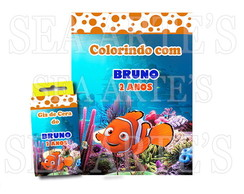 Kit Colorir - Procurando Nemo