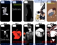 Capa Celular Death Note L Light Anime Ryuk Personalizado