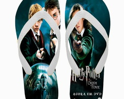 Chinelo Personalizado Harry Potter