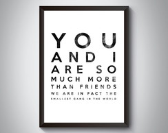 "Quadro ""You And I Are So Much More Than"""
