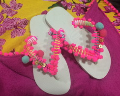 Havaianas customizadas by Vic
