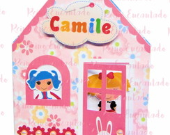 Convite pop up Lalaloopsy