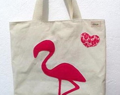 Ecobag Flamingo (10.011)