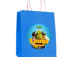Kit 30 Sacolas Shrek