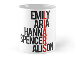 Caneca Pretty Little Liars 07