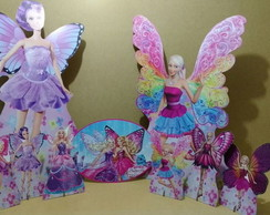 Display Barbie Buterfly mdf