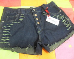 Short Jeans Customizado Destroyed