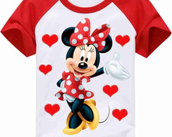 CAMISETA INFANTIL MINNIE