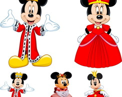 DISPLAY MINNIE REALEZA E MICKEY - MDF