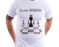 Camiseta Game Of Thrones Xadrez