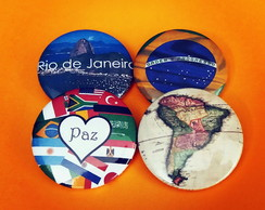 Button (broches): Mapas