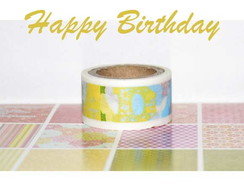 Washi Tape Recollection - W00479