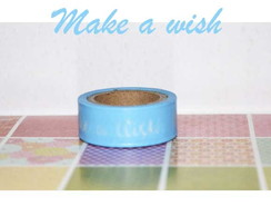 Washi Tape Azul Recollections - W00784m