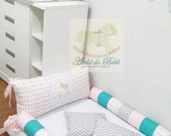 kit cama Chevron montessorinao 5 pcs