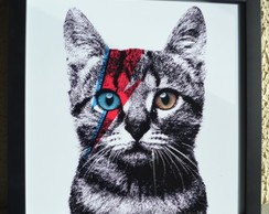 Quadro david cat