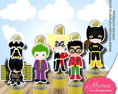 Tubetes turma do Batman 3d