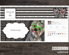 Kit Elo7 - Layout para Loja - Pet ~ Dog