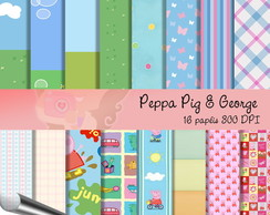 Peppa Pig e George (KIT DIGITAL)