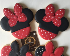 Biscoitos Decorados - Minnie