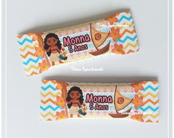 Chocolate Personalizado Moana Cute