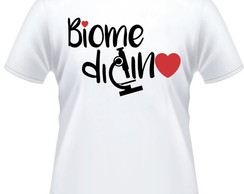 Camiseta Universitária Biomedicina