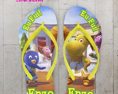 Chinelo Infantil Backyardigans Basquete
