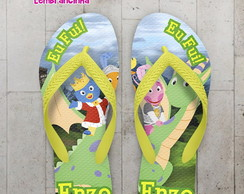 Chinelo Infantil Backyardigans