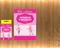 Kit Colorir Angelina Bailarina