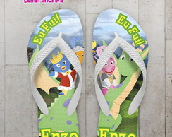 Chinelo Infantil Backyardigans e Dragão