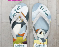 Chinelo Personalizado, Puffin Rock