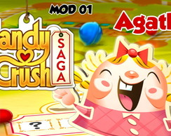 Papel Arroz CANDY CRUSH