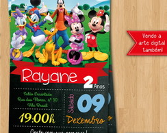 Convite - A Casa do Mickey Mouse