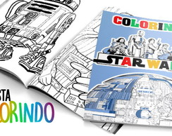 Livrinho colorir Star wars