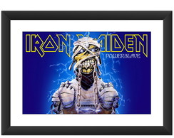 Quadro Iron Maiden Eddie Bandas Rock Art