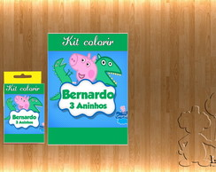 Kit Colorir George Pig,