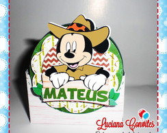 Porta latinha Mickey Safari