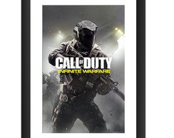 Quadro Call Of Duty Jogo Video Game Arte