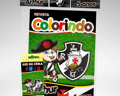 Kit Colorir Vasco + brindes