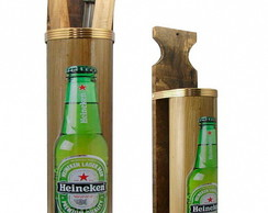 PORTA ESPETOS - CHURRASCO- HEINEKEN BEER