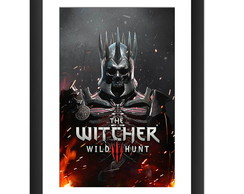 Quadro The Witcher Wild Hunt Game Jogos