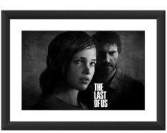 Quadro The Last Of Us Elliot Joel Games