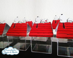 Aplique 3D - Casinha Snoopy