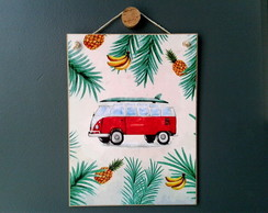 Placa Kombi Tropical 15x20