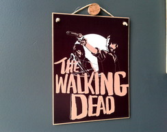 Placa The Walking Dead 15x20