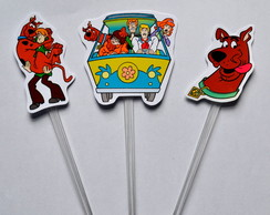 Topper para doces Scooby Doo