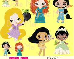 Kit Digital Princesas 1