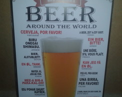 Placa Decorativa BEER MODELO II