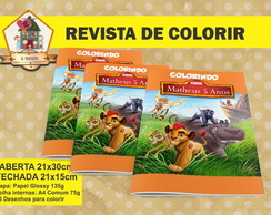 Revista Colorir GUARDA DO LEÃO