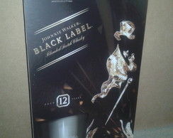 Placa Decorativa Black Label