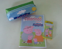 KIT DE COLORIR PERSONALIZADO
